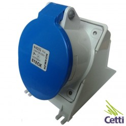 Tomada Industrial Steck 3P+T 32A 200-250V N4209