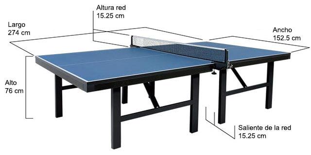 0fb2574f4 Saiba todas as medidas da mesa de ping pong e tênis de mesa no  Clicktenisdemesa.com.br