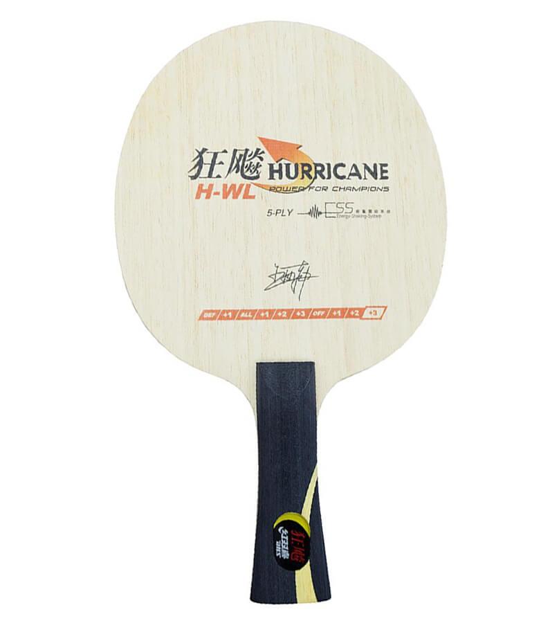 47bc42d18 Raquete de Tênis de Mesa Mod. Hurricane Wang Liqin da DHS TÊNIS DE MESA