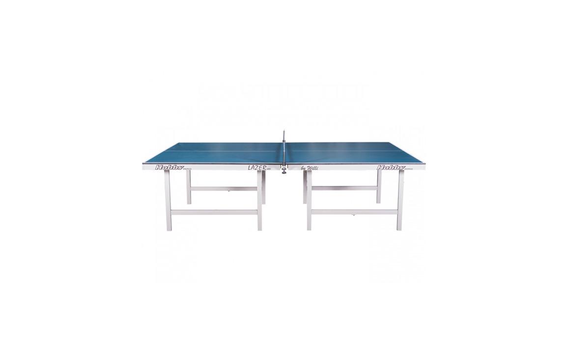 mesa de tênis de mesa e ping pong da hobby brasil 15mm pés de madeira 1