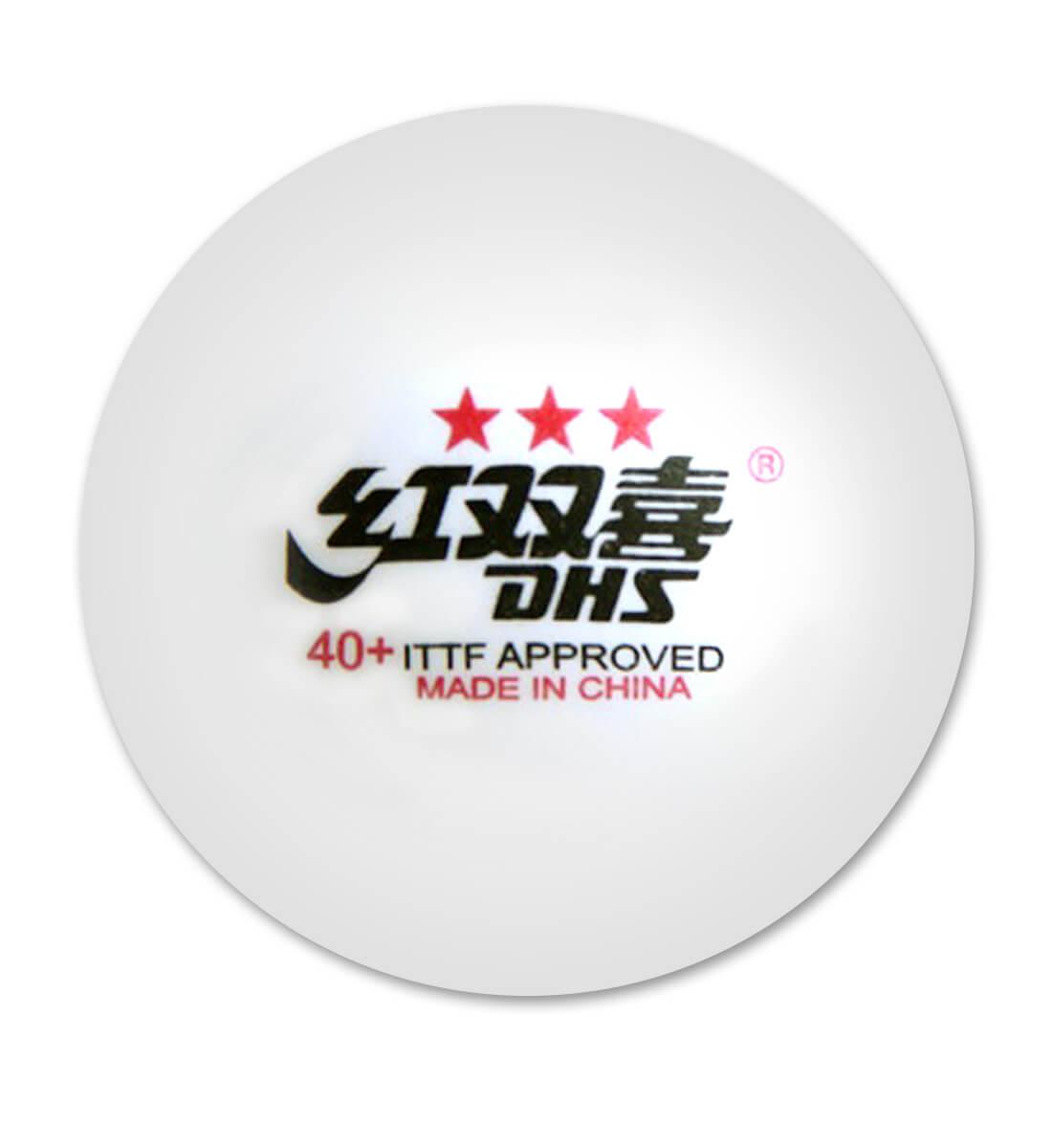 990017c90 Caixa de bolas das Olimpíadas de plástico (40+) 03 estrelas com 6 ...