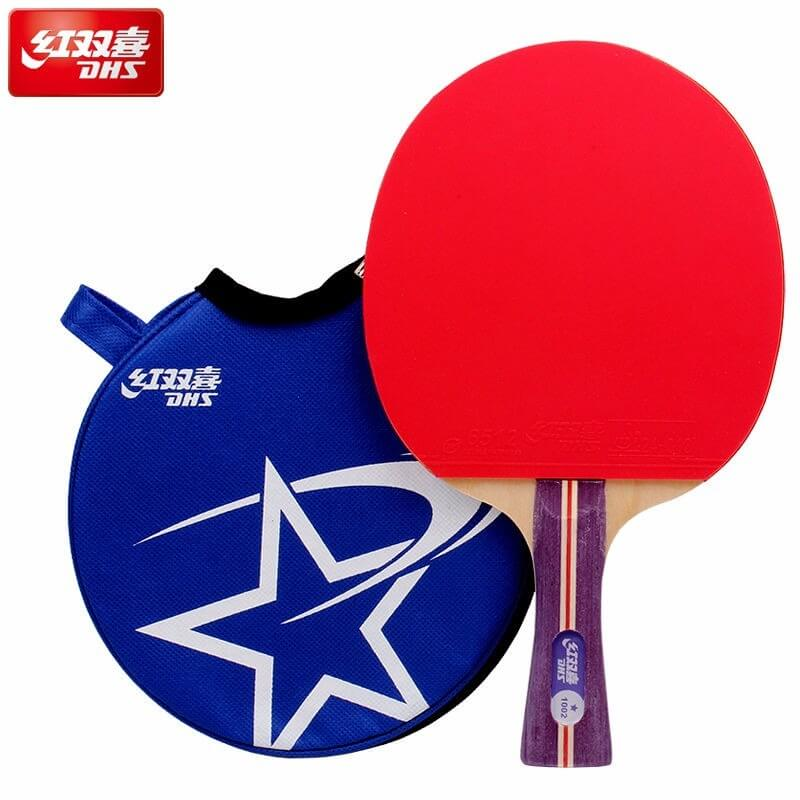 33d1faf66 Raquete de Tênis de Mesa Mod. 1002 da DHS TÊNIS DE MESA ...