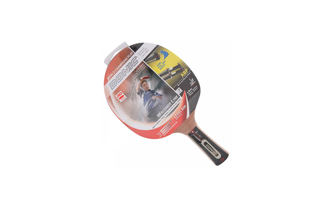 b0ce8c268 Raquete de Tênis de Mesa Waldner Top Teams 600 com DVD Clássica DONIC  SCHILDKRÖT TÊNIS DE MESA