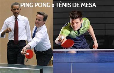 cfb0b1a3c Diferença entre ping pong e tenis de mesa