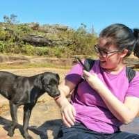 Coisa fazendo amigos durante nossa viagem para Ouro Preto