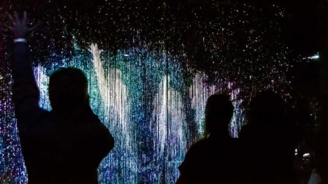 Farol Santander - Obra Constelação, somos todos feitos de luz