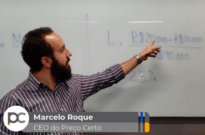 Marcelo Roque em aula