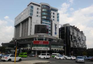 Onde ficar em Joanesburgo na África do Sul – Hotel Radisson Blu Gautrain em Sandton