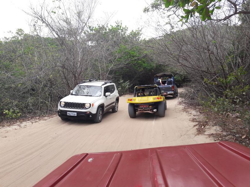 buggy caminho lagoa do paraiso-jericoacoara