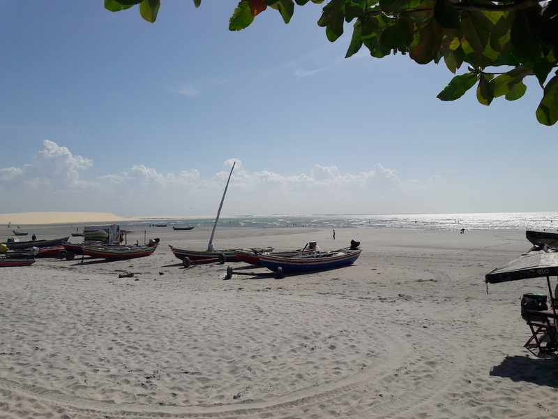 praia principal jeri barcos jericoacoara