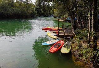 Passeio no Eco Park Porto da Ilha em Bonito (MS)