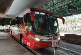 Como ir de ônibus para Aparecida/SP saindo do aeroporto Guarulhos?