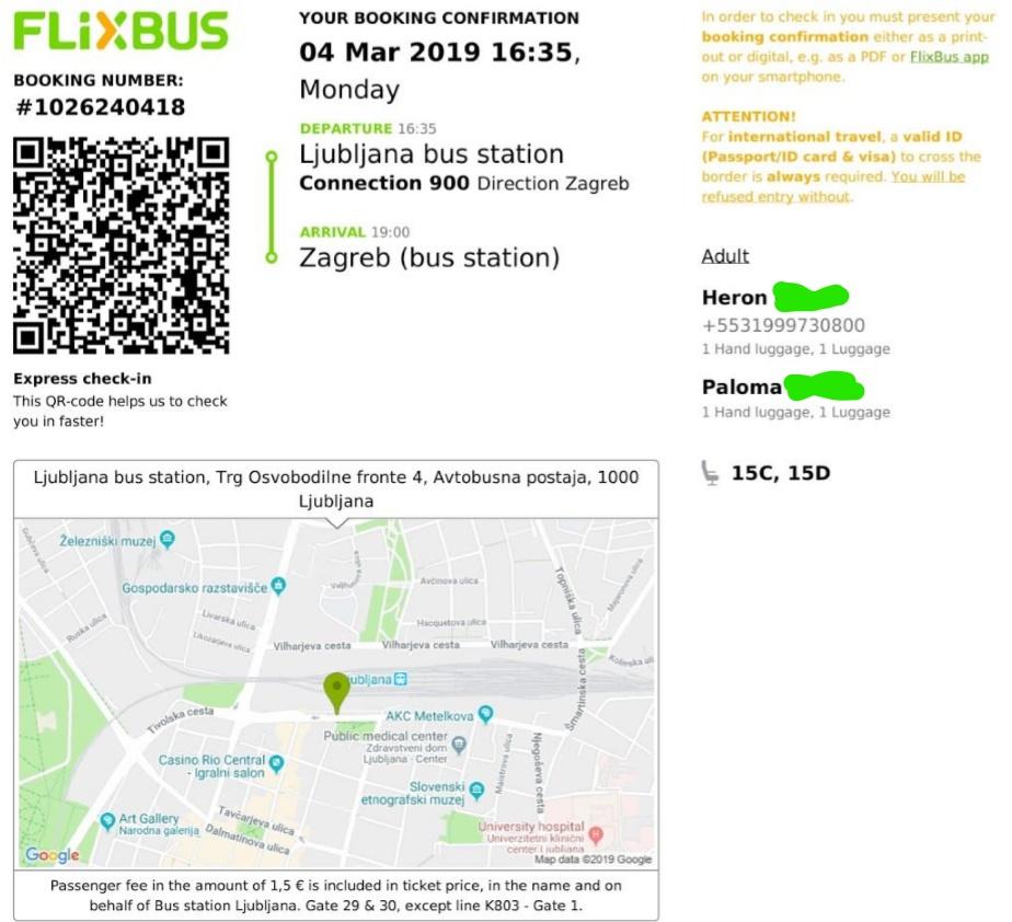 liubliana-zagrebe-croacia-flixbus-onibus