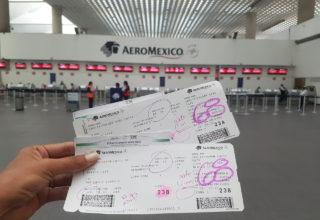 Viagem com a Aeromexico em plena pandemia do Coronavírus