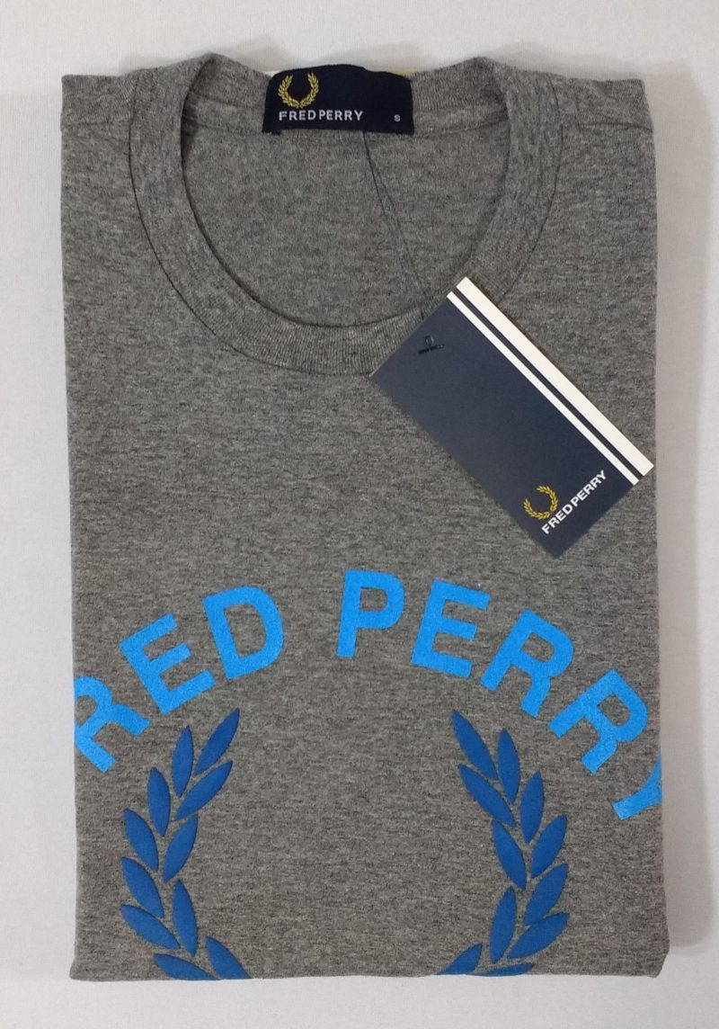 Camiseta Pima Fred Perry Estampada 1