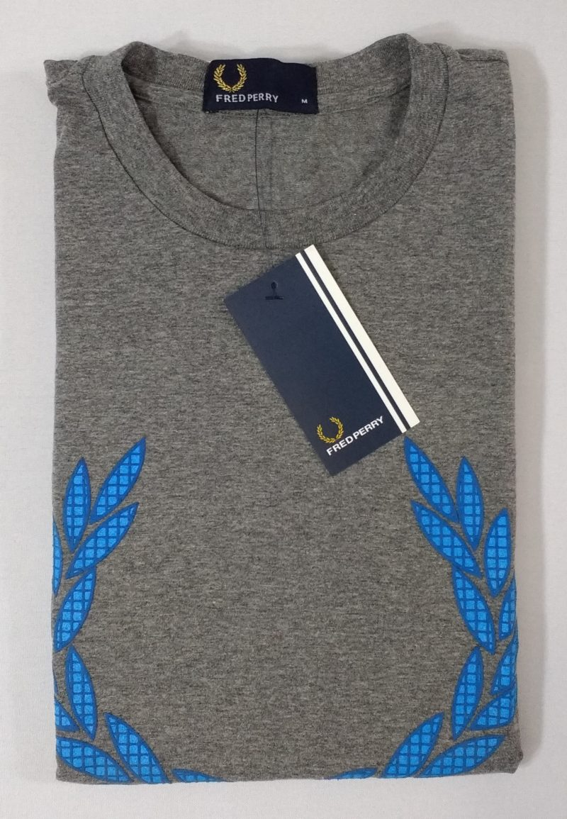 Camiseta Pima Fred Perry Estampada 10