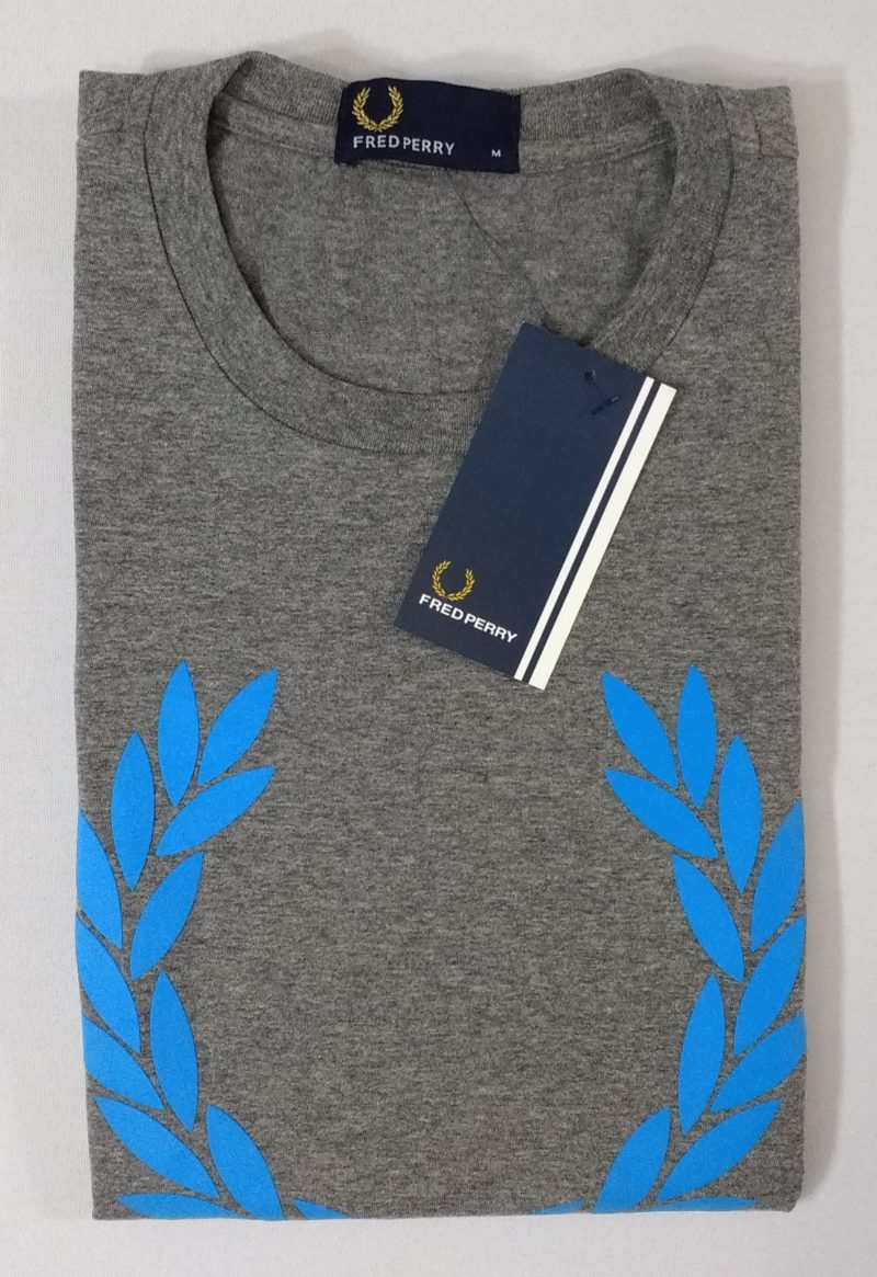 Camiseta Pima Fred Perry Estampada 4