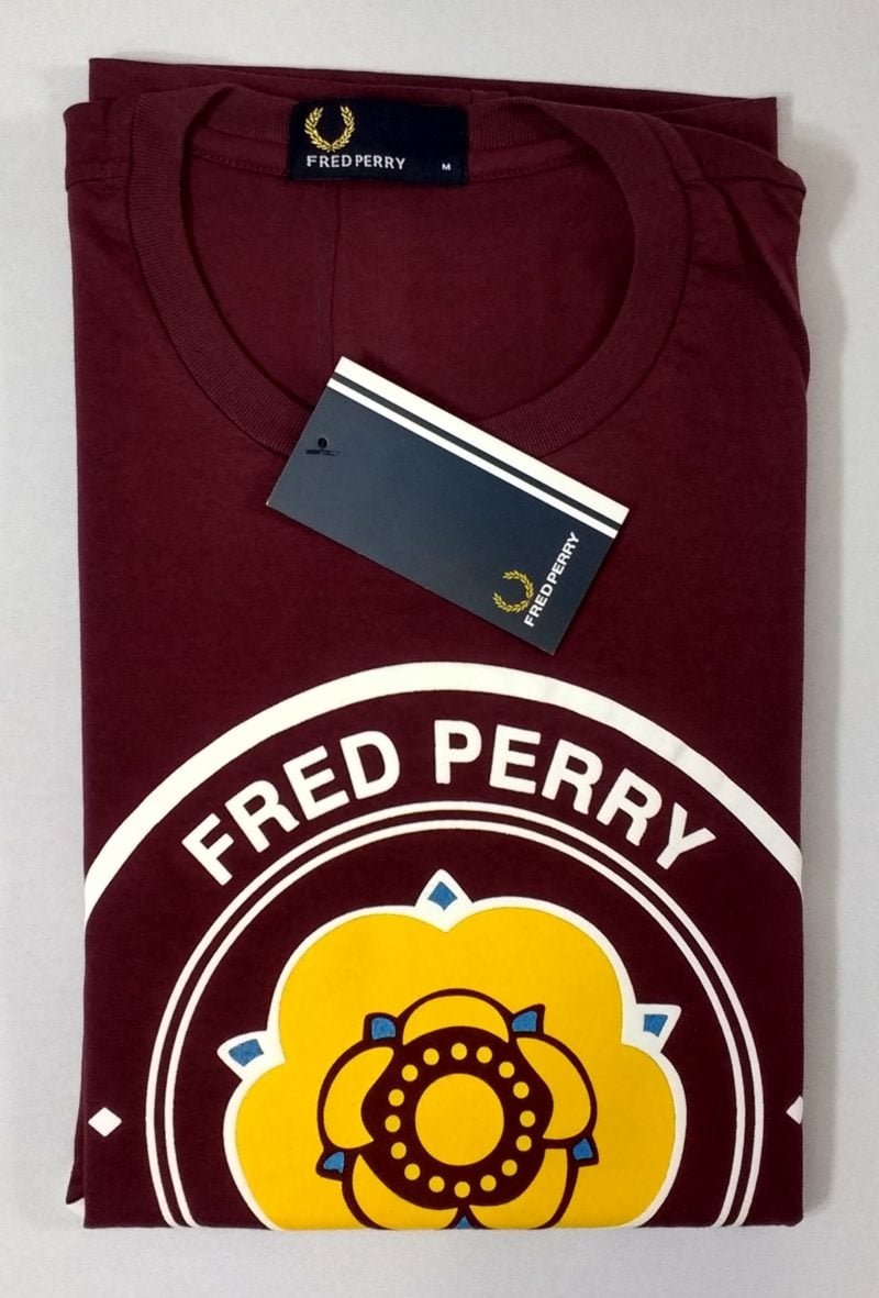 Camiseta Pima Fred Perry Estampada 13