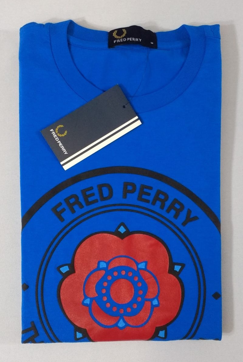 Camiseta Pima Fred Perry Estampada 15