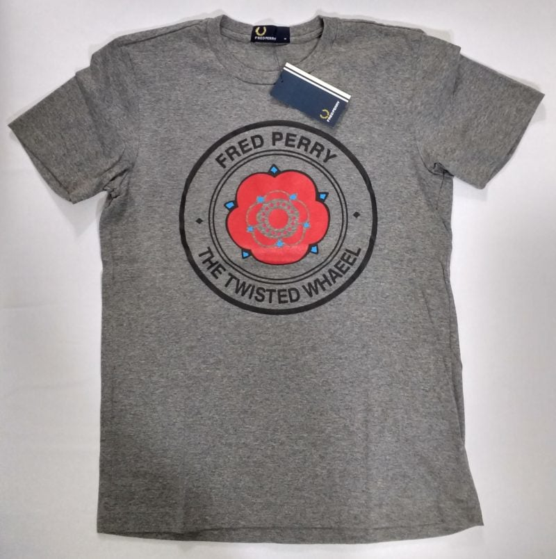 Camiseta Pima Fred Perry Estampada 16