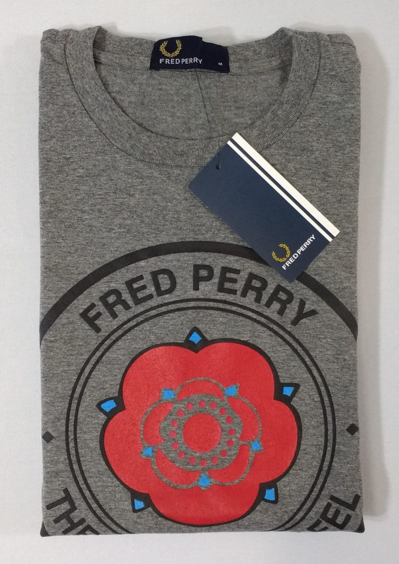 Camiseta Pima Fred Perry Estampada 6
