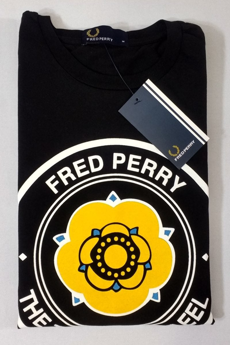 Camiseta Pima Fred Perry Estampada 2