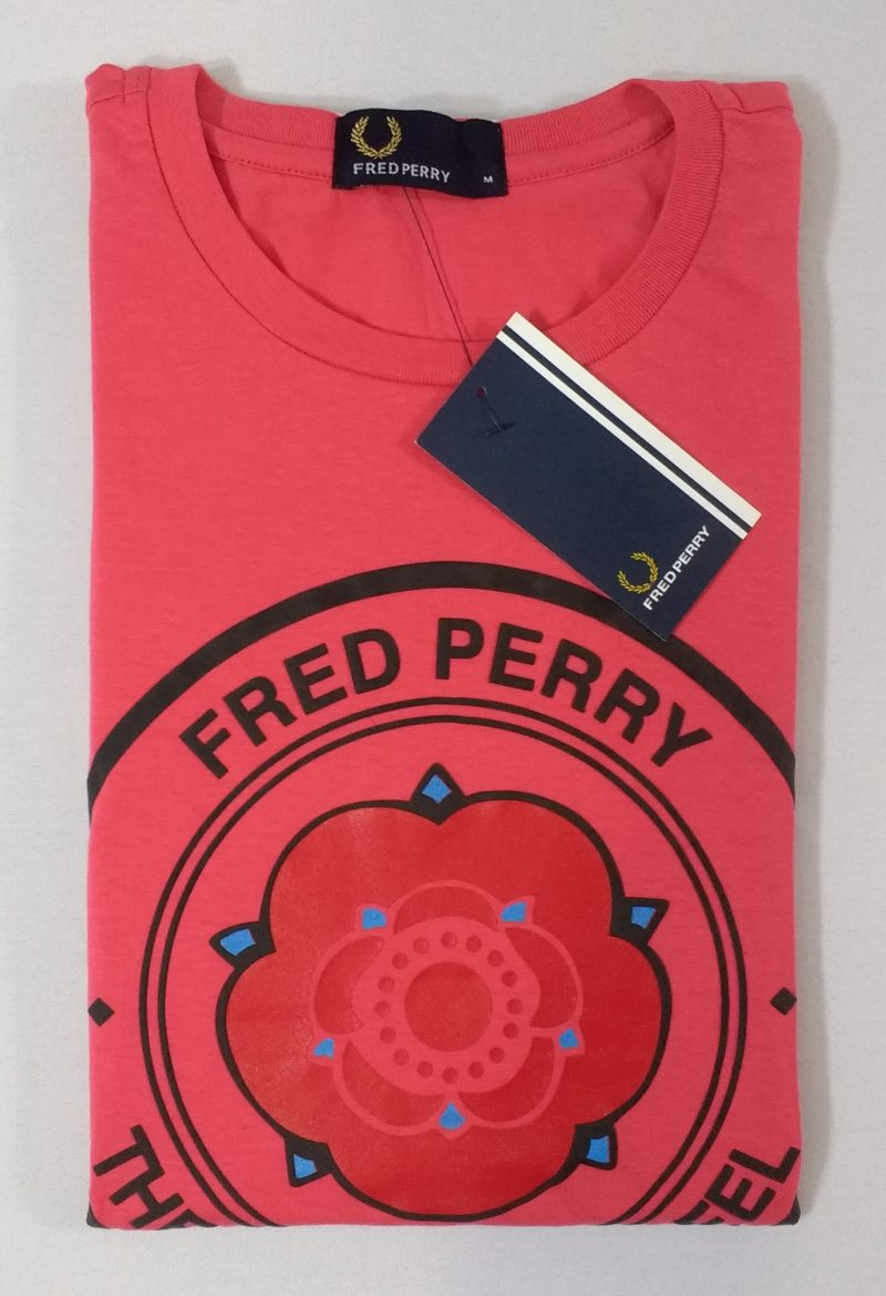 Camiseta Pima Fred Perry Estampada 5