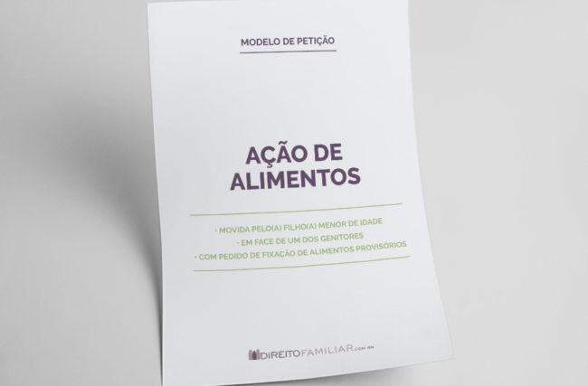 Modelo de Petição de Ação de Alimentos