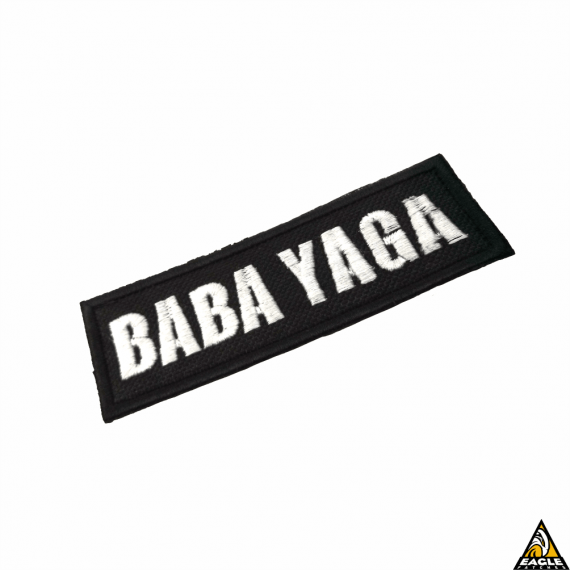 Patch Bordado Tarja Baba Yaga-John Wick