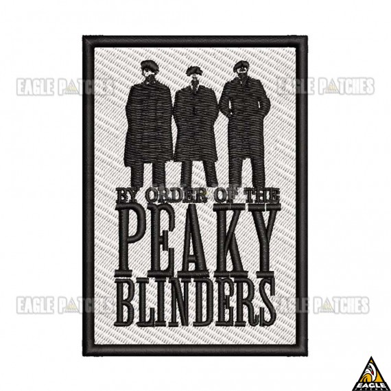 Patch Bordado By Order of the Peaky Blinders