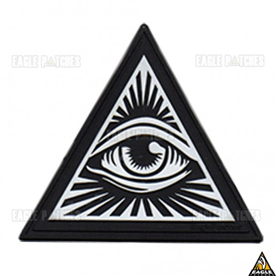 Patch Emborrachado Illuminati - G.'.A.'.D.'.U.'.