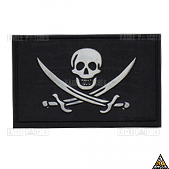 Patch Emborrachado Jolly Roger