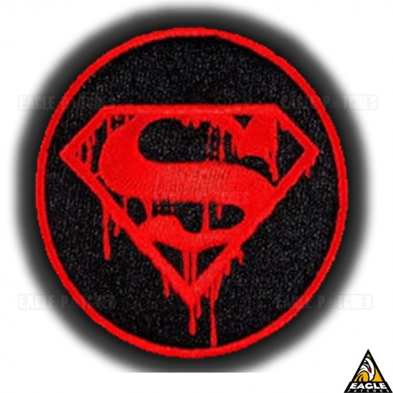 Patch Bordado A Morte de Superman