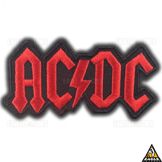 Patch Bordado ACDC