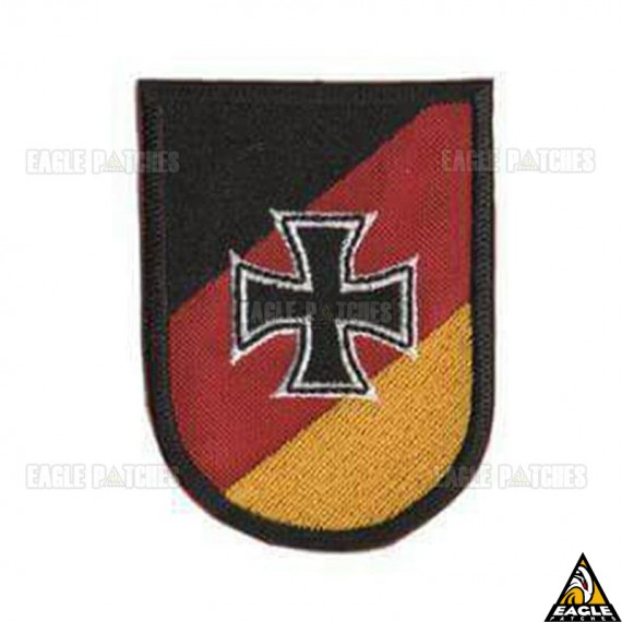 Patch Bordado Alemanha - Cruz de Ferro