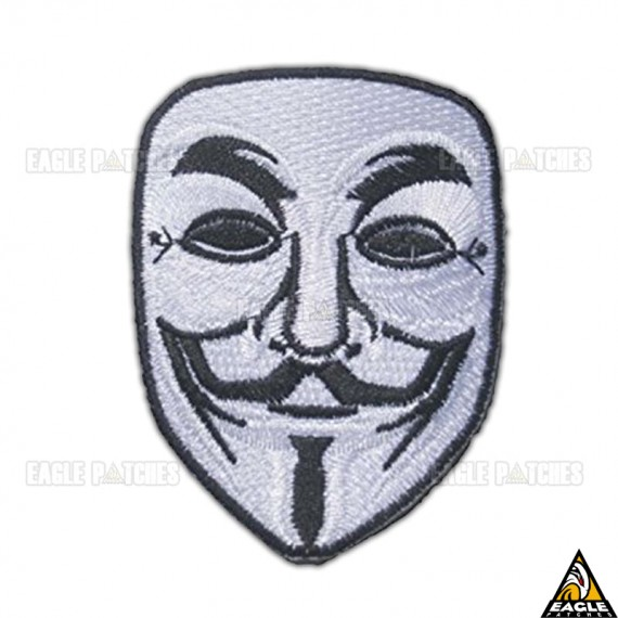 Patch Bordado Anonymous - V de Vingança