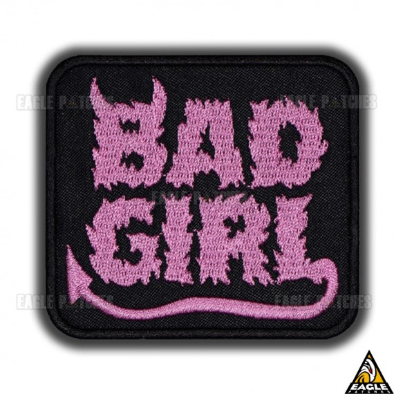 Patch Bordado Bad Girl