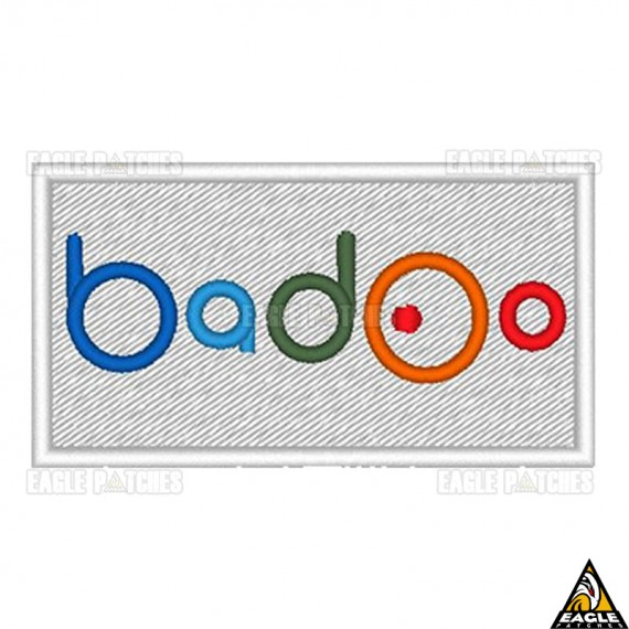 Patch Bordado Bad