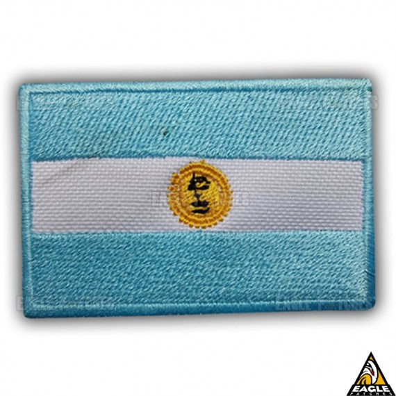 Patch Bordado Bandeira Argentina