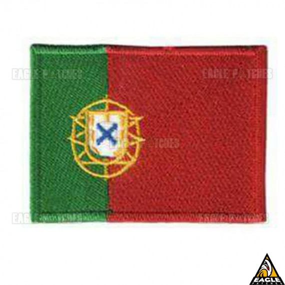 Patch Bordado Bandeira de Portugal