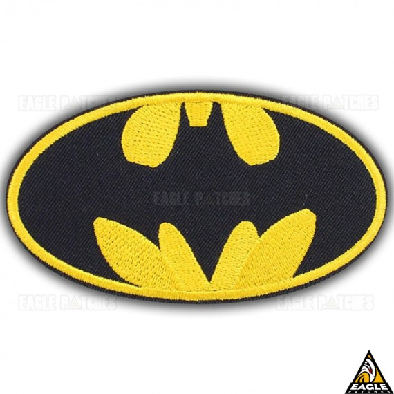 Patch Bordado Batman Logotipo