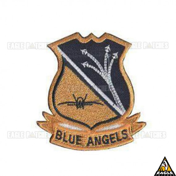 Patch Bordado Blue Angels