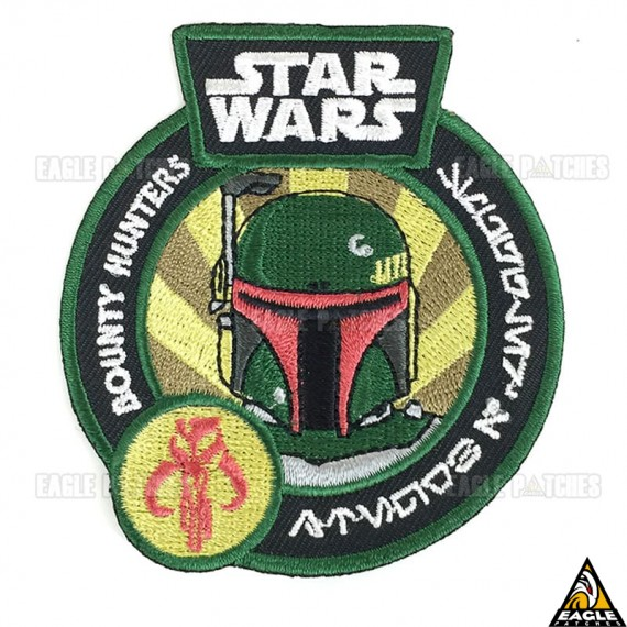 Patch Bordado Bounty Hunters Star Wars