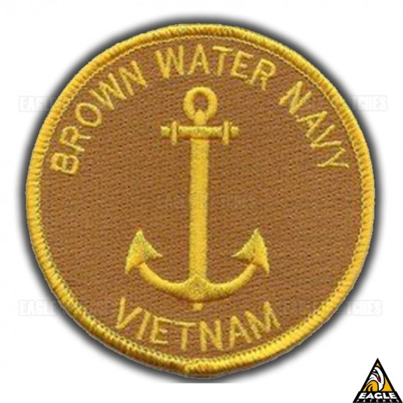 Patch Bordado Brown Water Navy - Vietnam