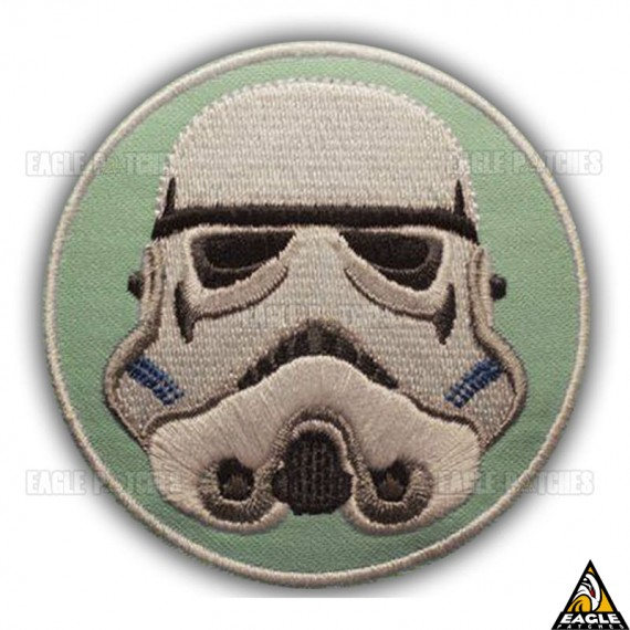 Patch Bordado Capacete Stormtrooper