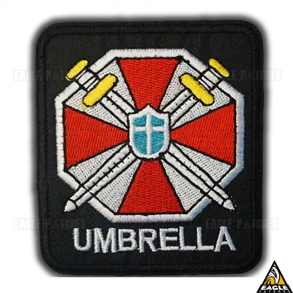Patch Bordado Escudo Umbrella - Resident Evil