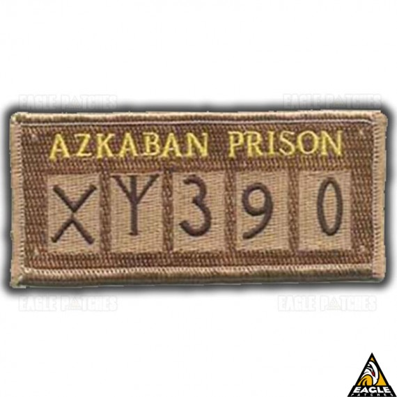 Patch Bordado Harry Potter Azkaban Prison