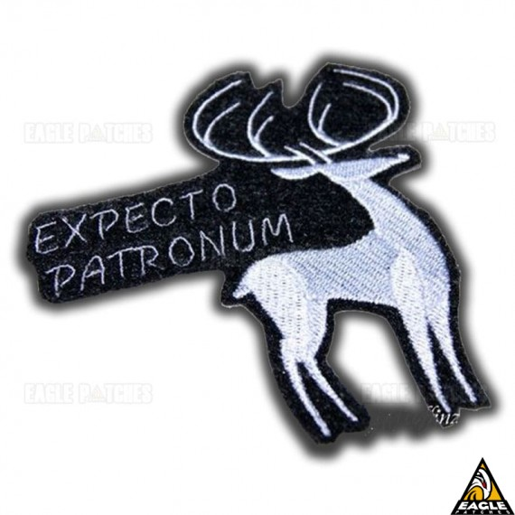 Patch Bordado Harry Potter Expecto Patronum