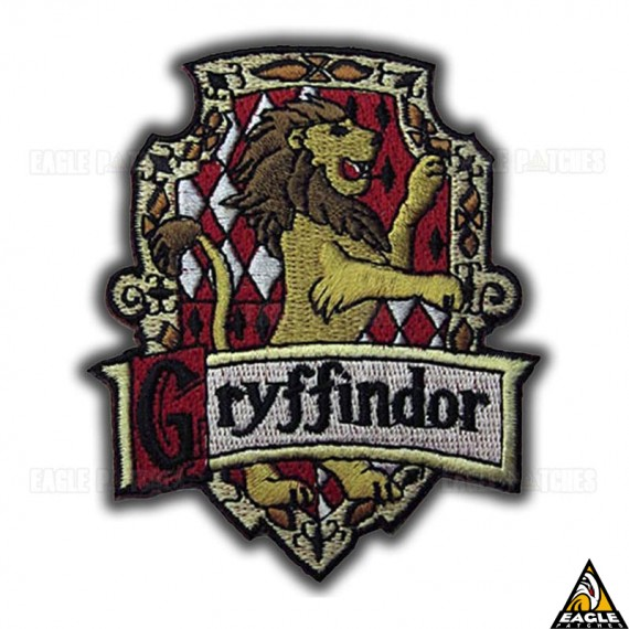 Patch Bordado Harry Potter Gryffindor