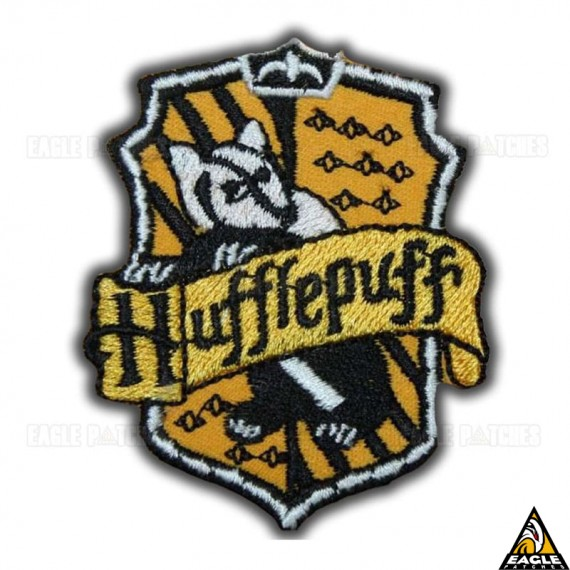 Patch Bordado Harry Potter Hufflepuff